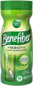 Benefiber Taste Free Sugar Free Fiber Supplement Powder for Digestive Health