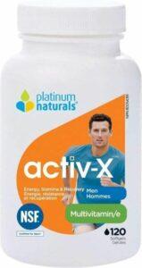 Platinum – Active X Multi for Men 120 Softgels
