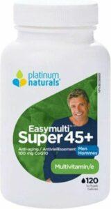 Platinum Naturals Super Easymulti 45 for Men Multivitamin